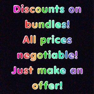 Other - Discounts! Make an offer :)